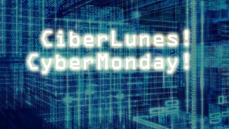 Todos esperando el black Friday... Celebremos el CiberLunes!